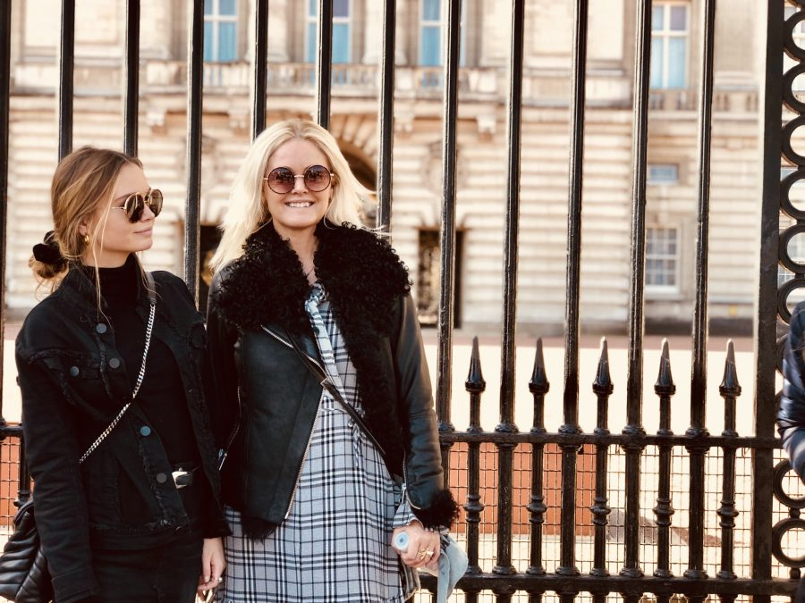 London weekend med Rebecca, Kristina og Karoline - Buckingham Palace